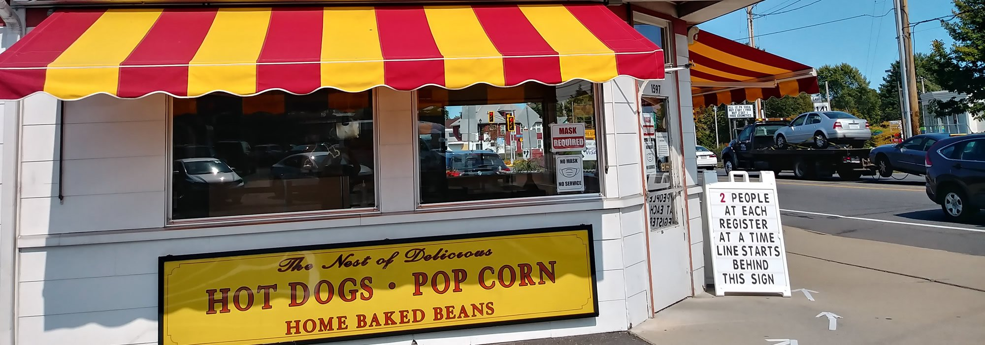 Nick's Nest - Holyoke, MA - Hot Dogs, Pop Corn, Home Baked Beans and more.